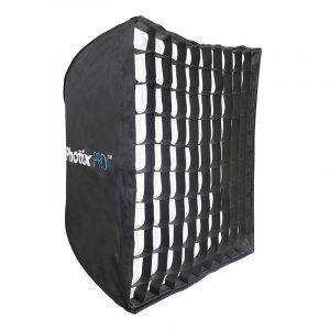 "Phottix Easy Up HD Umbrella Softbox with Grid 70x70cm (28""x28"") 1"