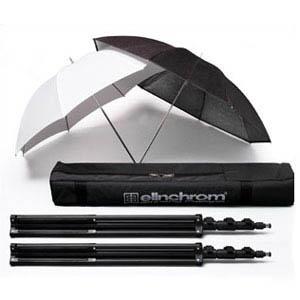 Kit stativi+ombrelli 2x30101, 26351, 26350, 33220 economy 1