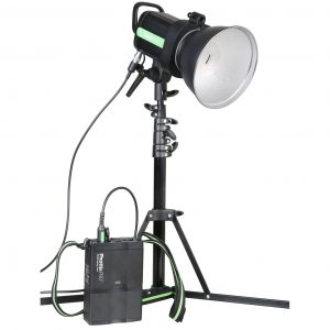 Phottix Indra 500 TTL Studio Light and Battery Pack Kit EU