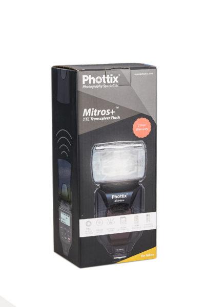 Phottix Mitros+ Odin Combo for Nikon (Mitros+ and Odin TCU) 1