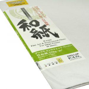 Awagami Bamboo Paper 170g/mq (F/R) - A4 - 20ff
