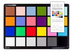 Munsell ColorChecker 24 colori 1