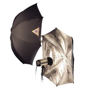 Photoflex - Ombrello regolabile argentato - diametro 114 cm 1