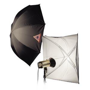 Photoflex - Ombrello regolabile bianco - diametro 114 cm 1