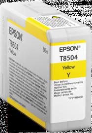 Singlepack Yellow T850400 - 80ml – per stampante SC-P800 1