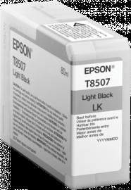 Singlepack Light Black T850700 - 80ml – per stampante SC-P800 1