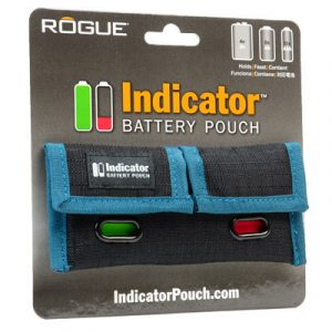 ROGUE INDICATOR battery pouch (AA-AAA-9V)
