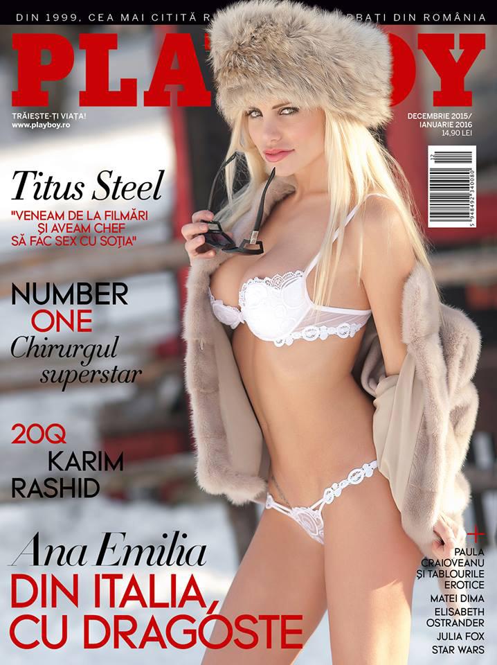 A -5°C per la copertina di Playboy con Elinchrom 23