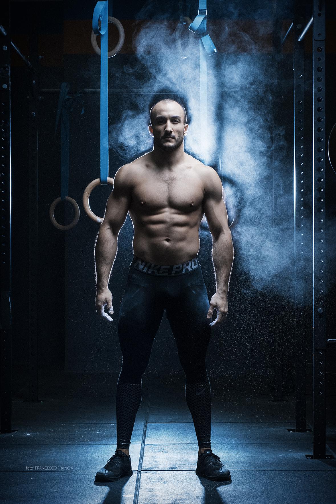 Portrait of a Champion - Ritratto ambientato di un atleta con Elinchrom ELB 400