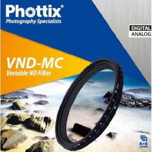 Phottix Variable ND multi-coated VND-MC 72mm