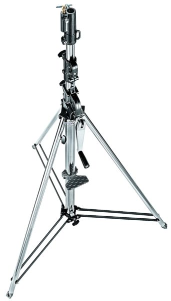087NW - Manfrotto wind up 3 sezioni